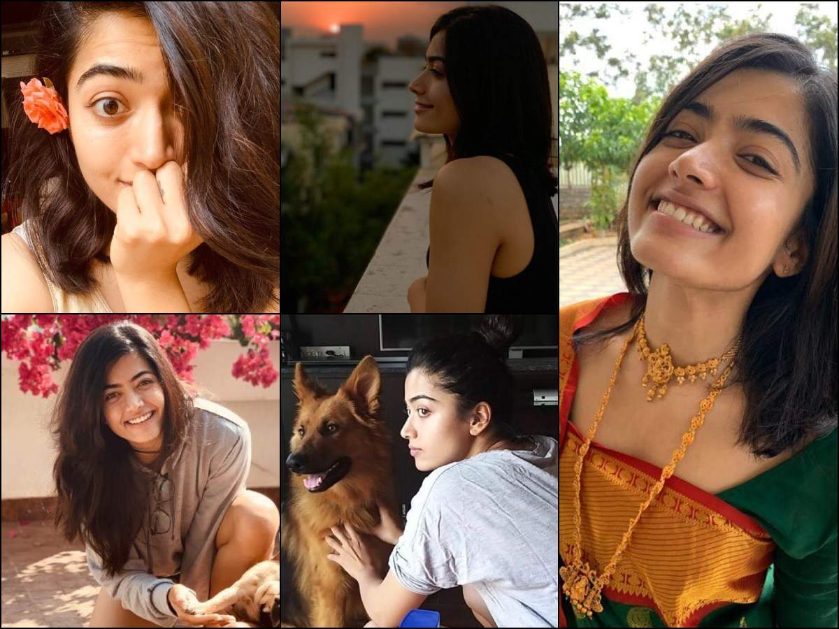 Lockdown Diaries Rashmika Mandanna S No Makeup Looks Will Sweep You Off Your Feet The Times Of India