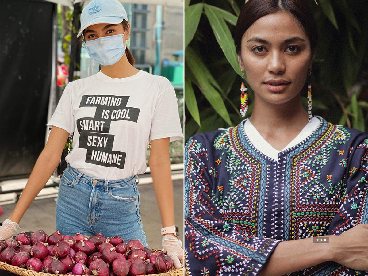 Beauty queen Alaiza Malinao goes back to farming roots