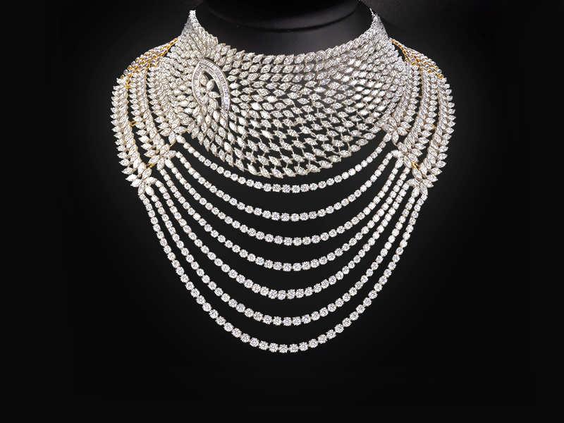 Dhanvi Polki choker necklace