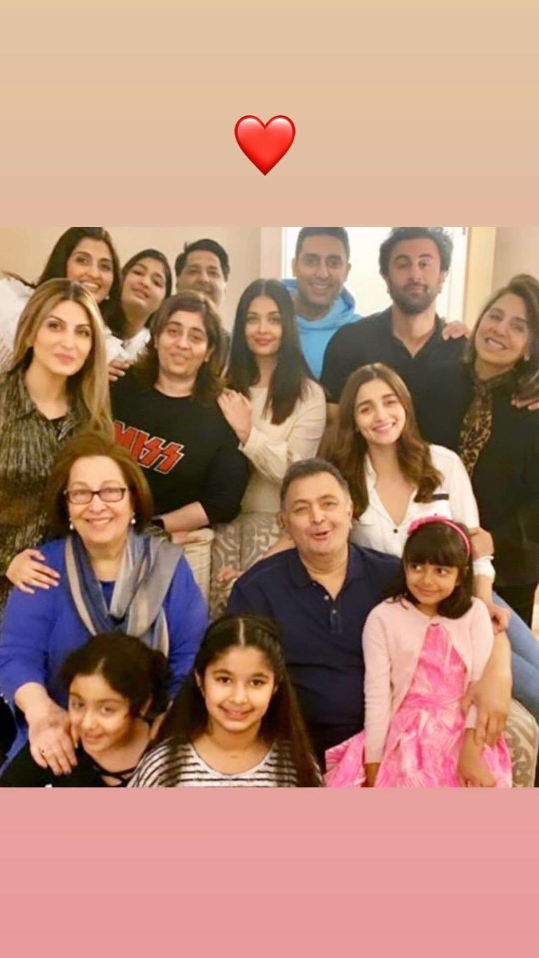 Riddhima Kapoor shares a contented throwback image when Aishwarya ...