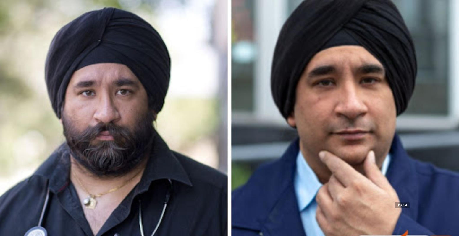 Sikh doctors take a moving decision as they shaved their beard to treat Covid-19 patients better