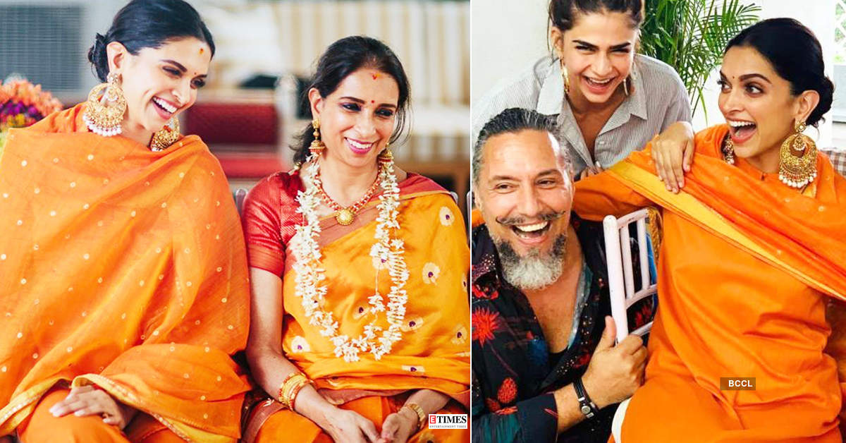 Unseen pictures from Deepika Padukone's wedding celebrations go viral...