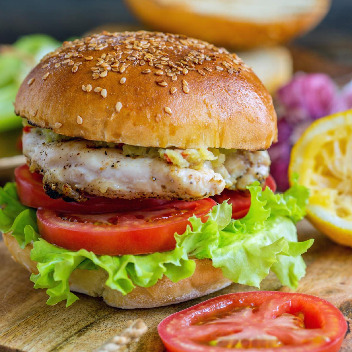 Chicken Burger Recipe How To Make Chicken Burger Recipe At Home Homemade Chicken Burger Recipe Times Food