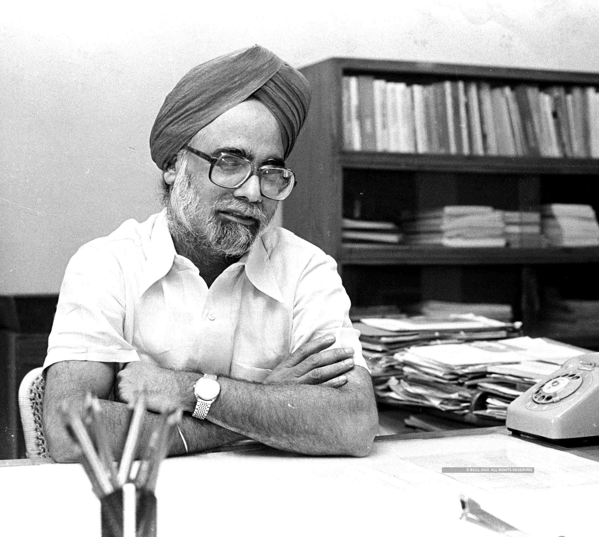 Rare pictures of former Prime Minister Manmohan Singh