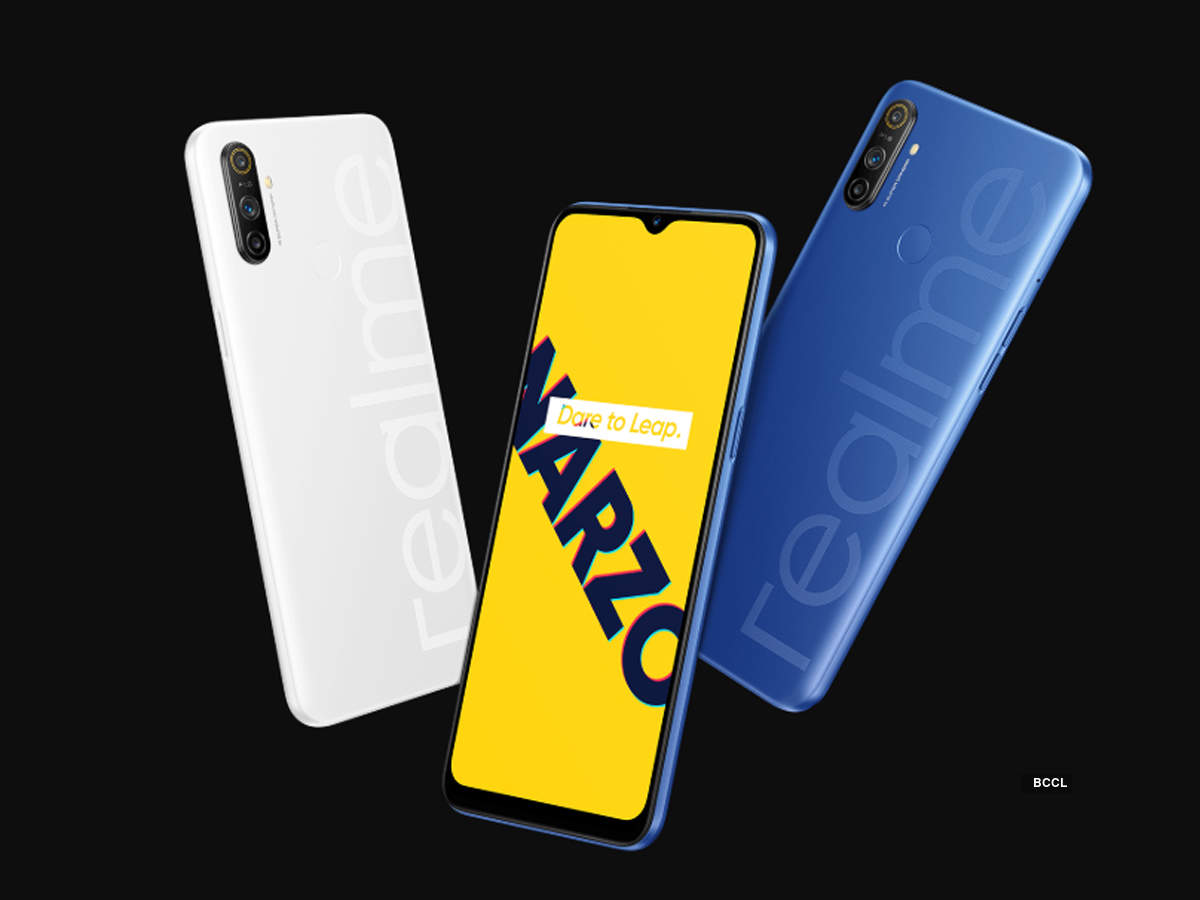 Realme Narzo 10 and Narzo 10A launched