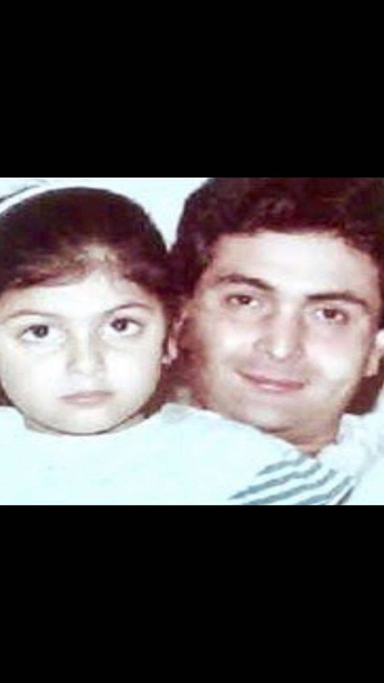 Riddhima Photo With Rishi Kapoor