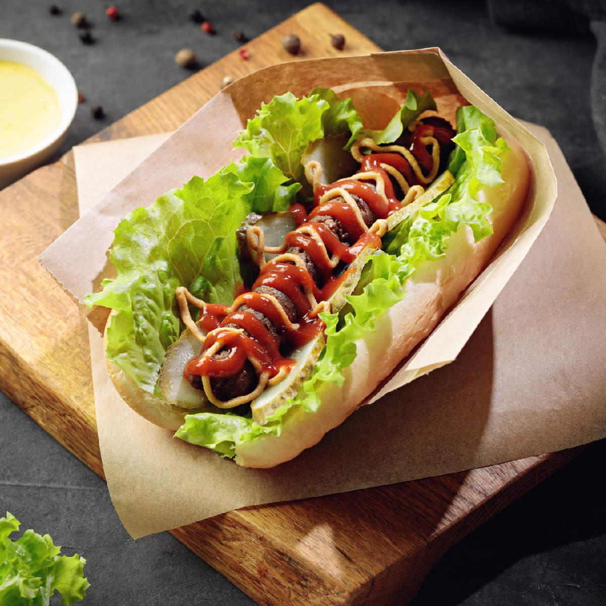 Vegetable Hot Dog Recipe How To Make Vegetable Hot Dog Recipe Homemade Vegetable Hot Dog Recipe