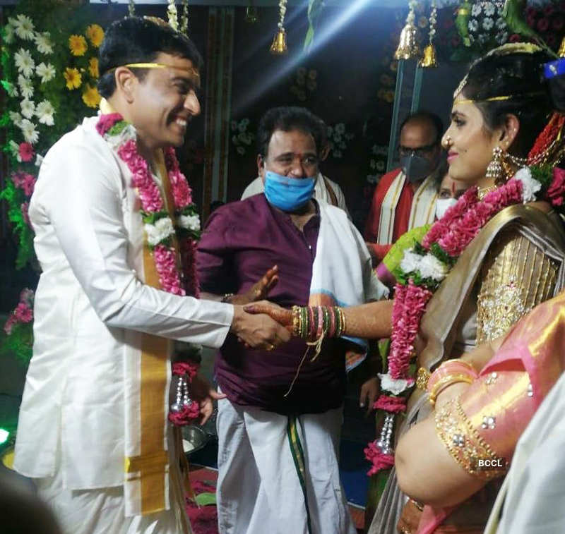 Tollywood producer Dil Raju ties the knot amid lockdown, see pictures