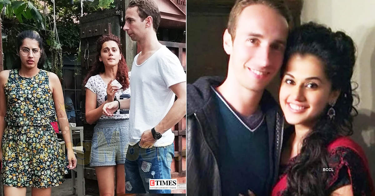 Viral pictures of Taapsee Pannu and her boyfriend Mathias Boe