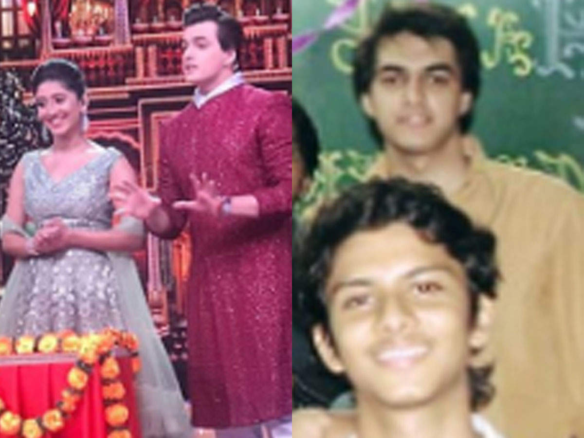 Yeh Rishta Kya Kehlata Hai S Mohsin Khan Shares Throwback Pictures With Onscreen Wife Shivangi Joshi And A Few From His Engineering Days The Times Of India Mohsin khan's sister, zeba is now married and mohsin couldn't have been happier. yeh rishta kya kehlata hai s mohsin