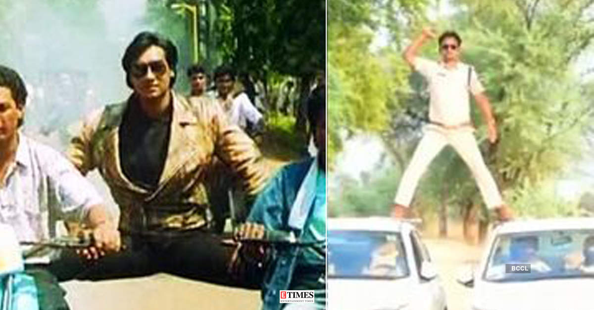 MP cop fined Rs 5,000 after his video imitating Ajay Devgn's stunt goes viral