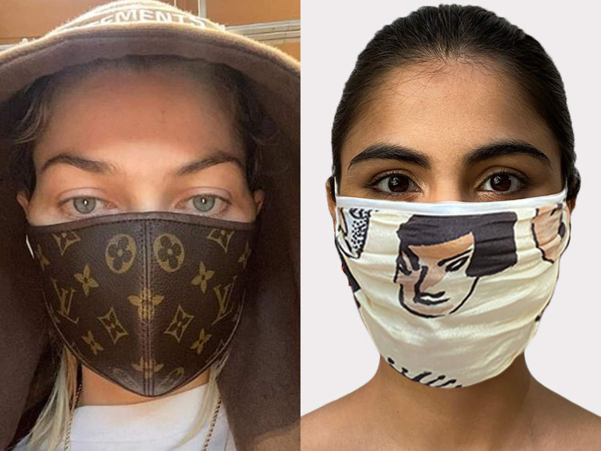 Louis Vuitton To Masaba Gupta 10 Trendiest Coronavirus Protection Masks The Times Of India