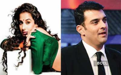 Vidya caught in a wedding web!