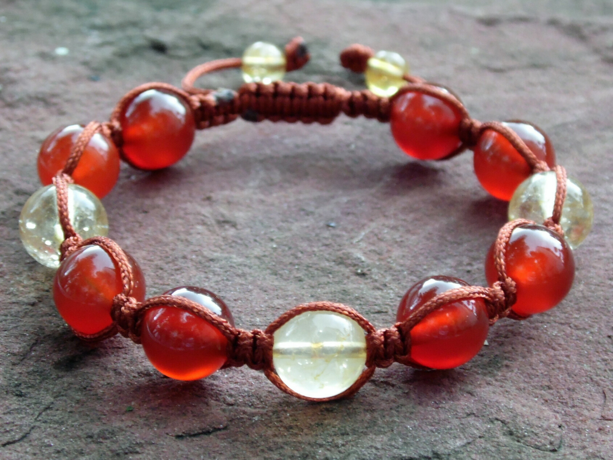 carnelian with citrine for Aries (final)