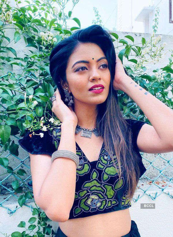 Shreya Rao dresses up the traditional way