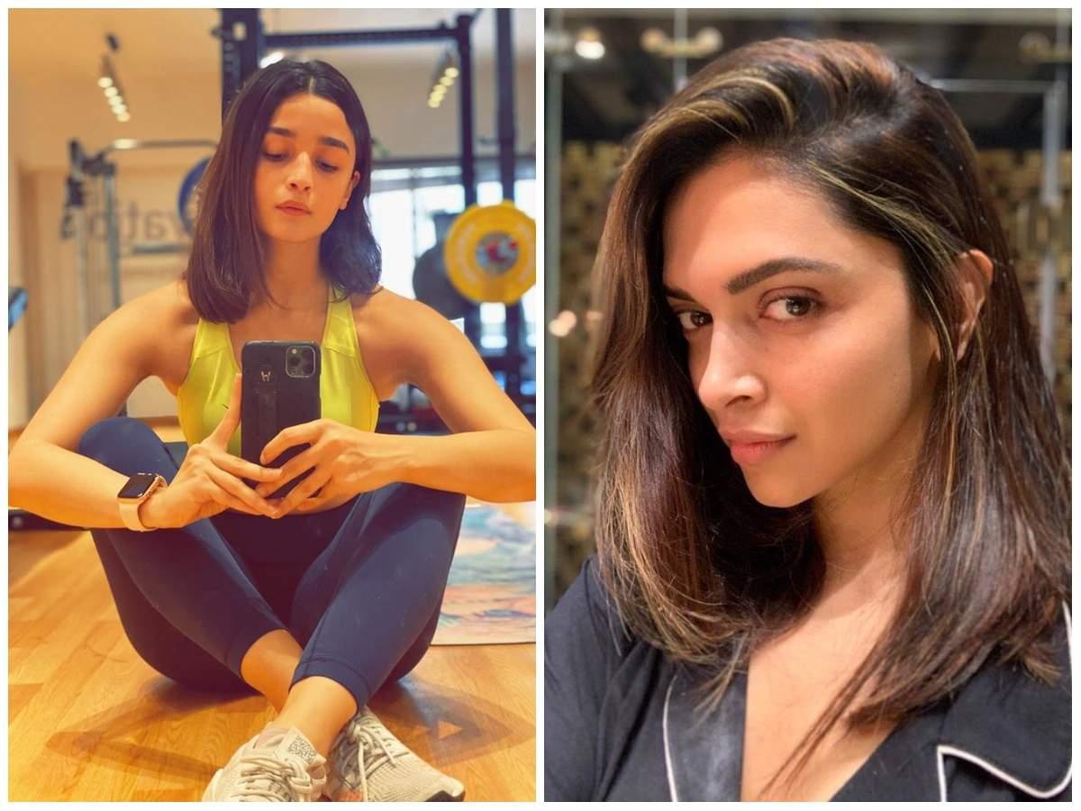 Alia Bhatt To Deepika Padukone B Town Ladies Get Hair Makeovers While In Quarantine The Times Of India
