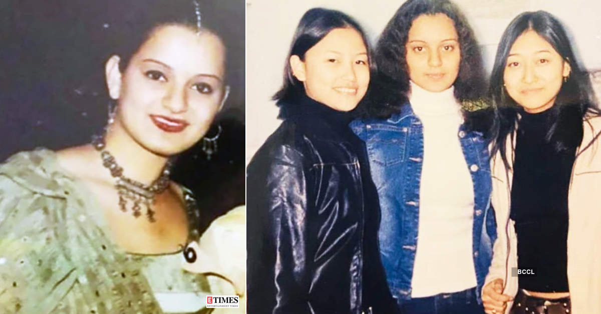 Unmissable pictures of Kangana Ranaut from her college days