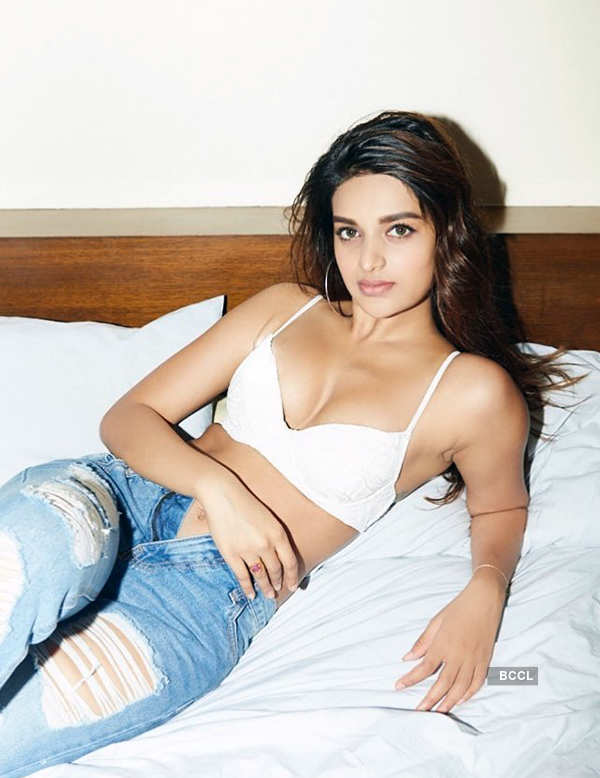 Nidhhi Agerwal's bewitching photoshoots are sweeping the internet