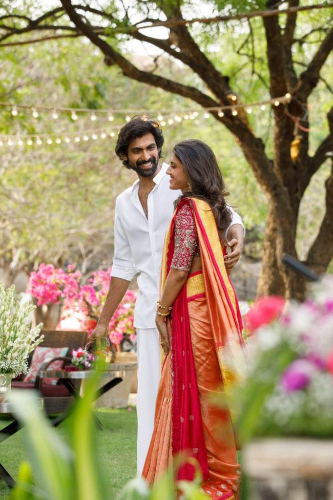 Rana Daggubati Engagement Photos, Videos & News