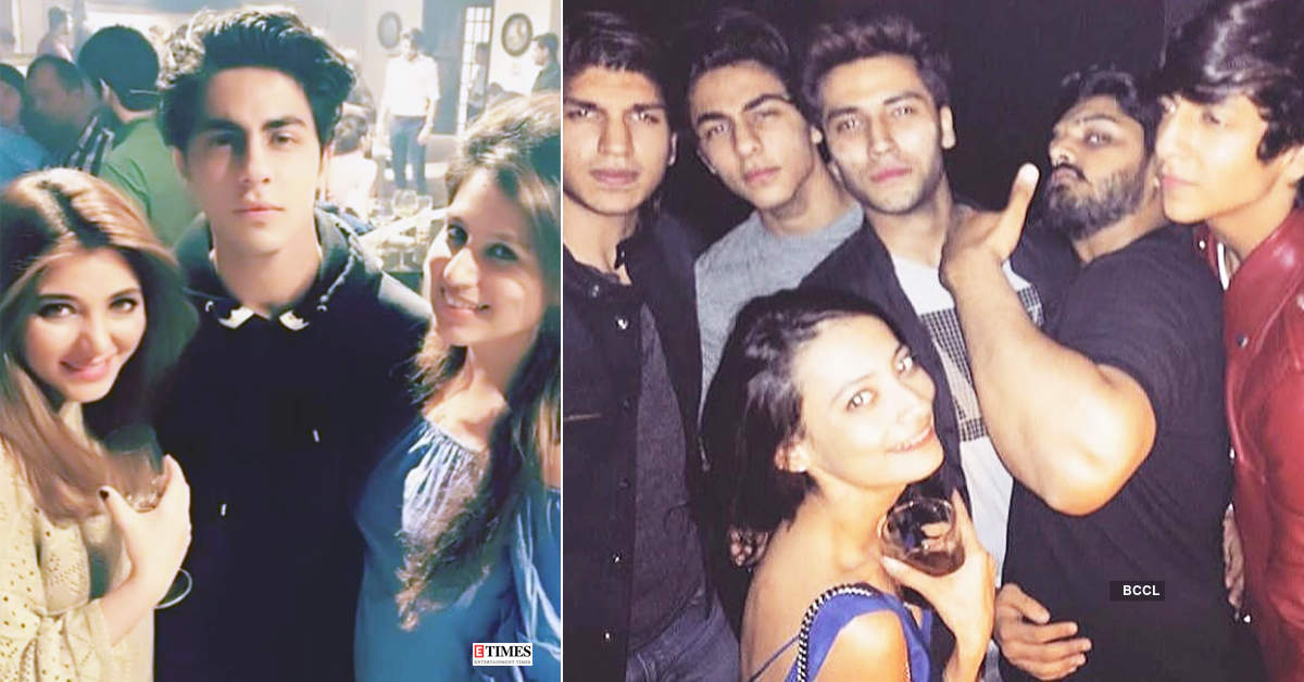 These shirtless pictures of Aryan Khan with his BFF go viral...