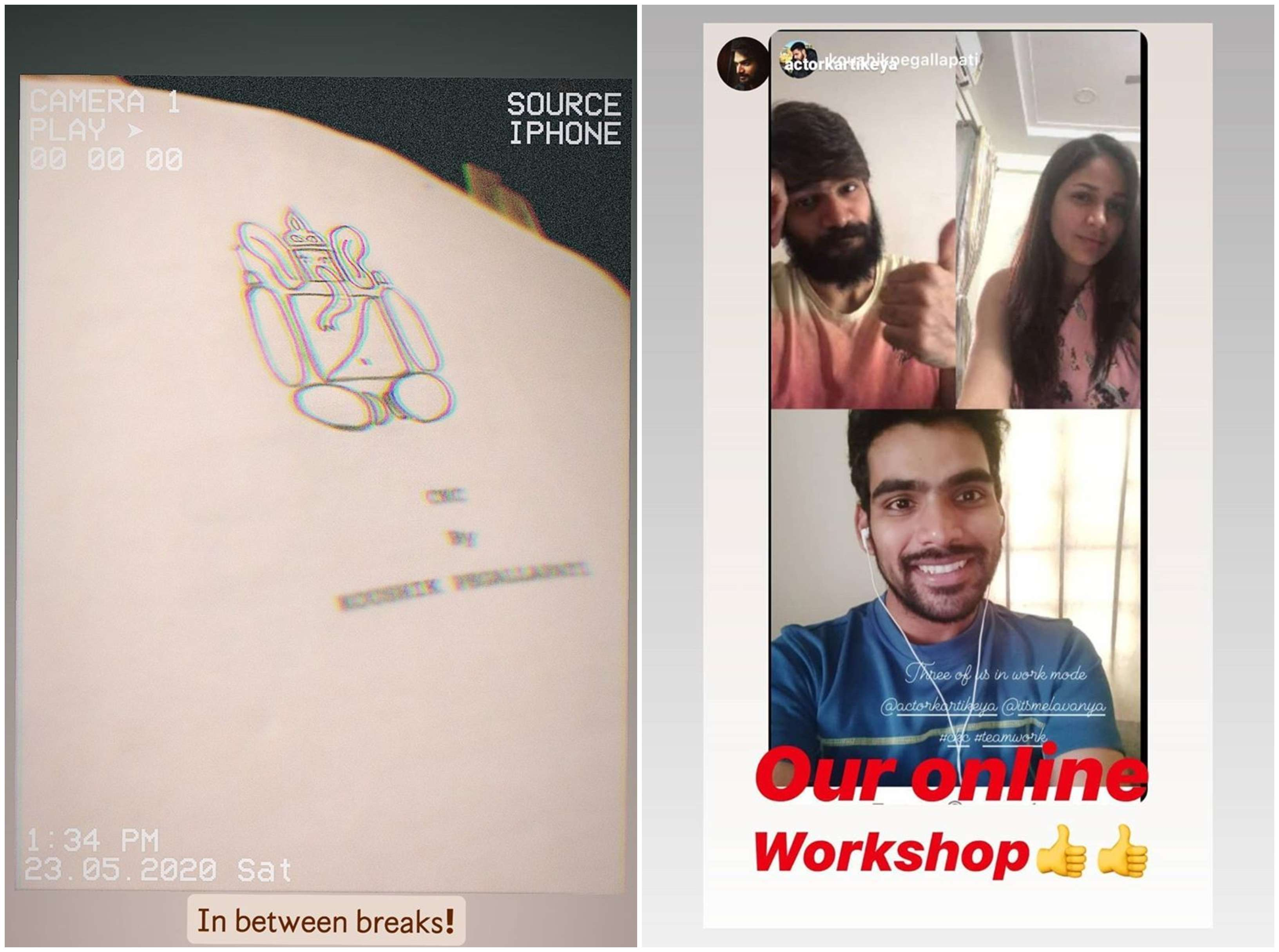 Karthikeya Lavanya Tripathi Online Workshop 3