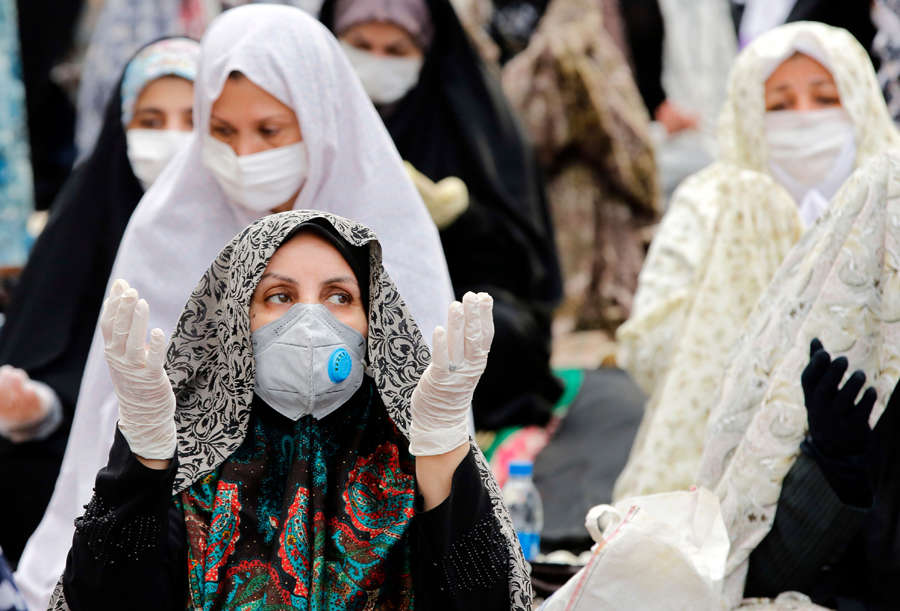 These pictures show how the coronavirus pandemic stifled Eid-ul-Fitr celebrations