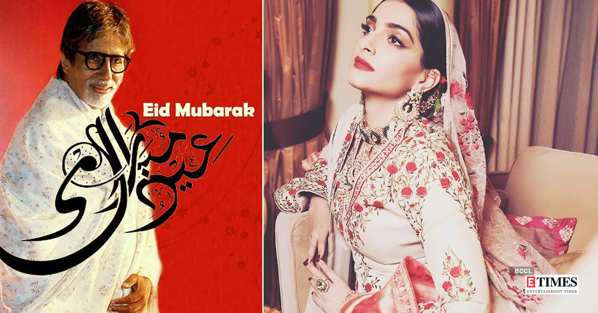 From Big B to Sonam Kapoor, Bollywood celebrities wish fans on Eid