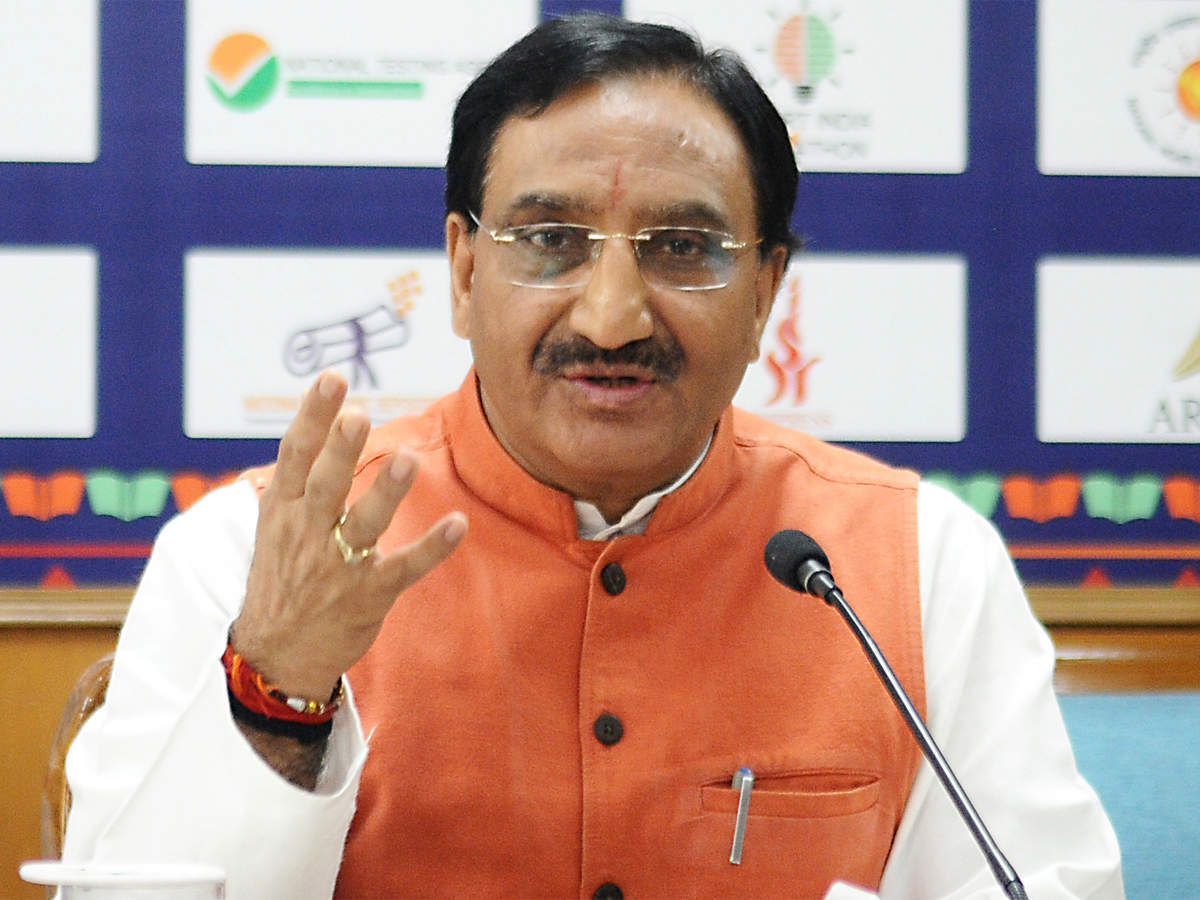 Union HRD minister to hold webinar with HEIs on May 28