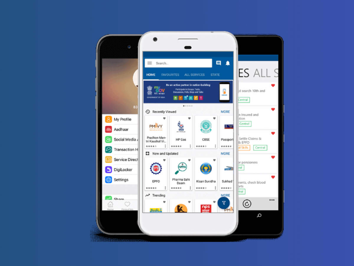 4 new services that are now available on government's Umang app