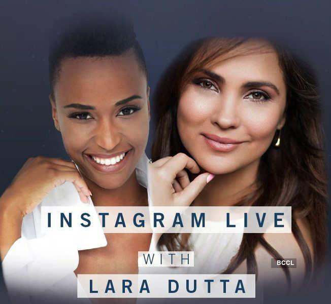 Lara Dutta in conversation with Zozibini Tunzi on her 20th anniversary