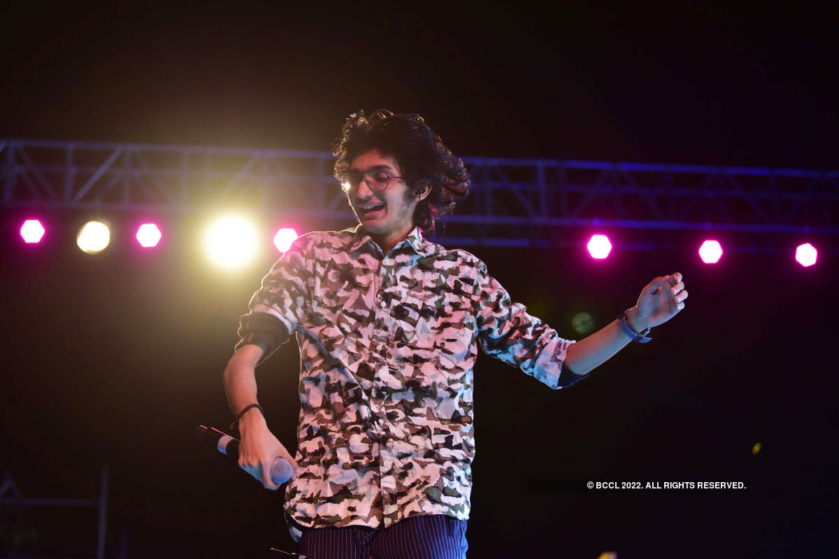 When musician Sanjith Hegde entertained music lovers