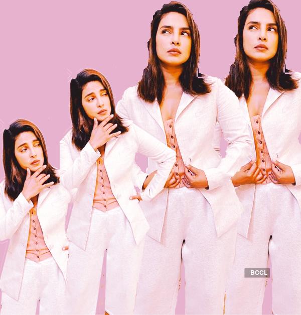 "Priyanka Chopra masters the ""Zoom Meeting Lewk"" like a boss"