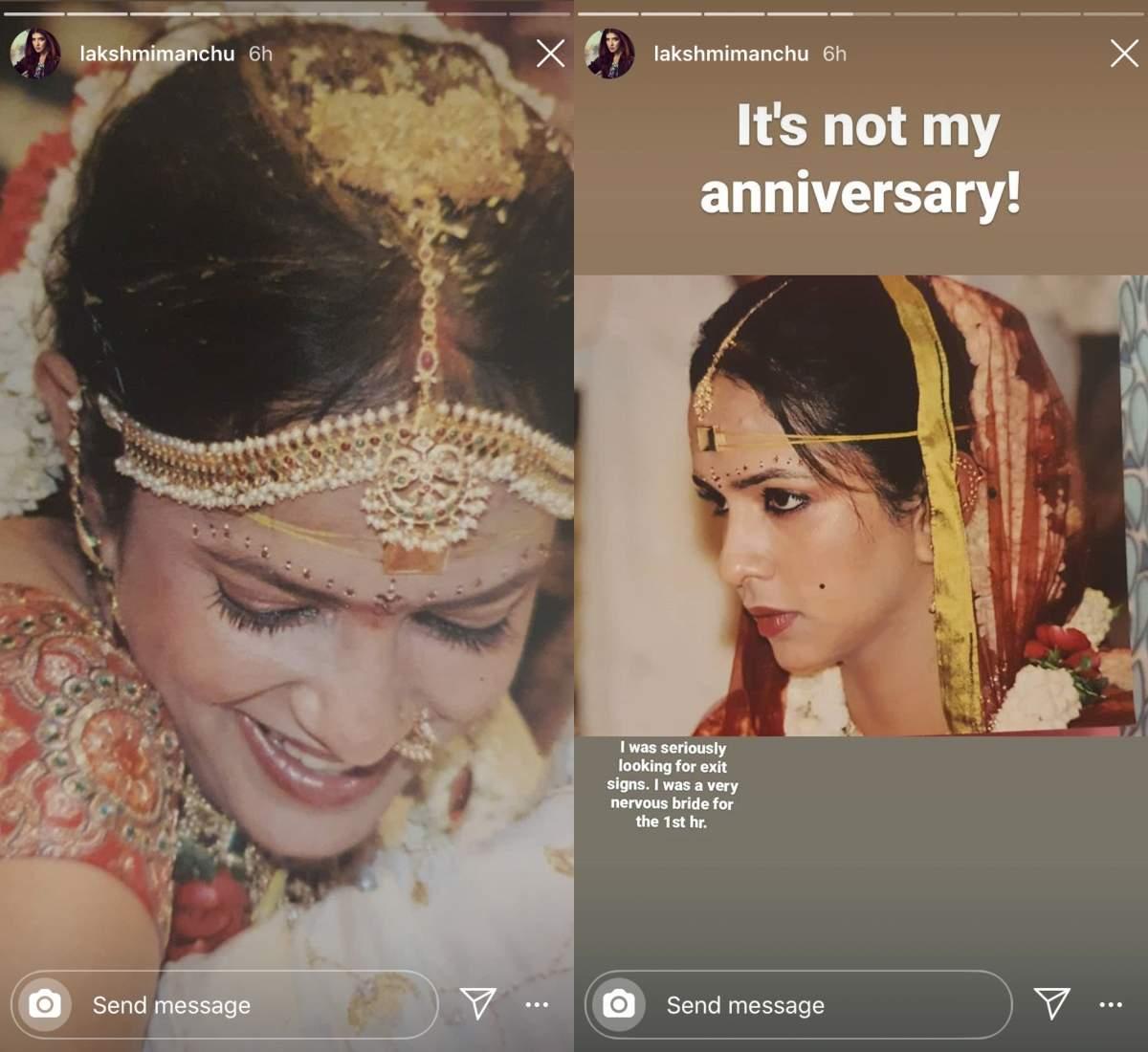 Lakshmi Manchi's throwback pictures