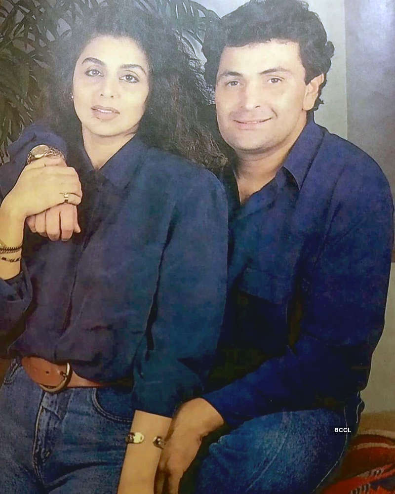Neetu Kapoor remembers Rishi Kapoor with a heartwarming throwback picture
