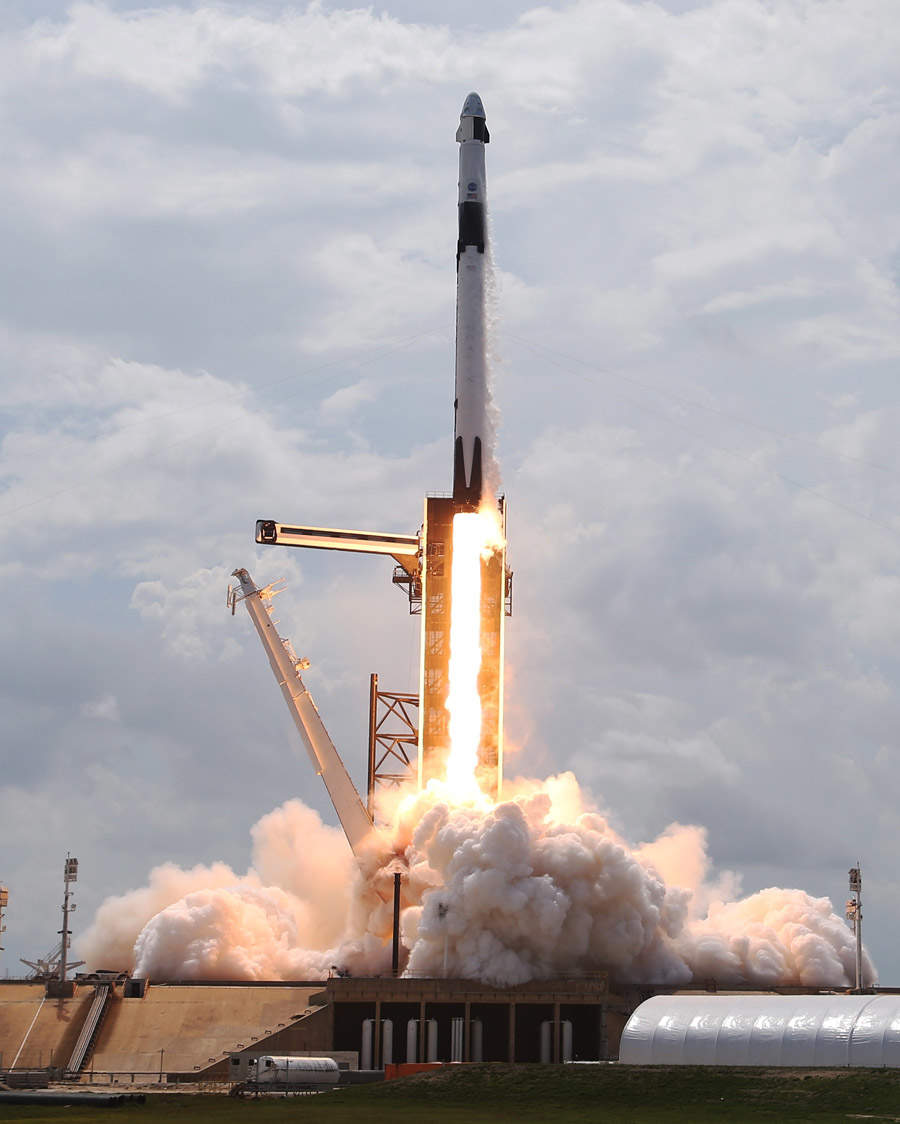 SpaceX successfully launches NASA astronauts into space