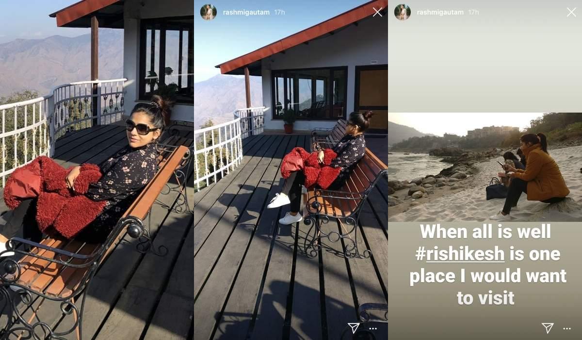 Rashmi's travel plans