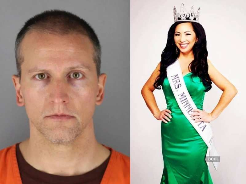 Derek Chauvin's pageant wife files for divorce, says doesn't want a penny in their divorce
