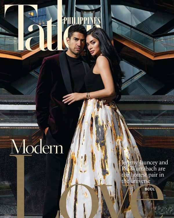 Miss Universe 2015 confirmed her relationship by featuring on a magazine cover