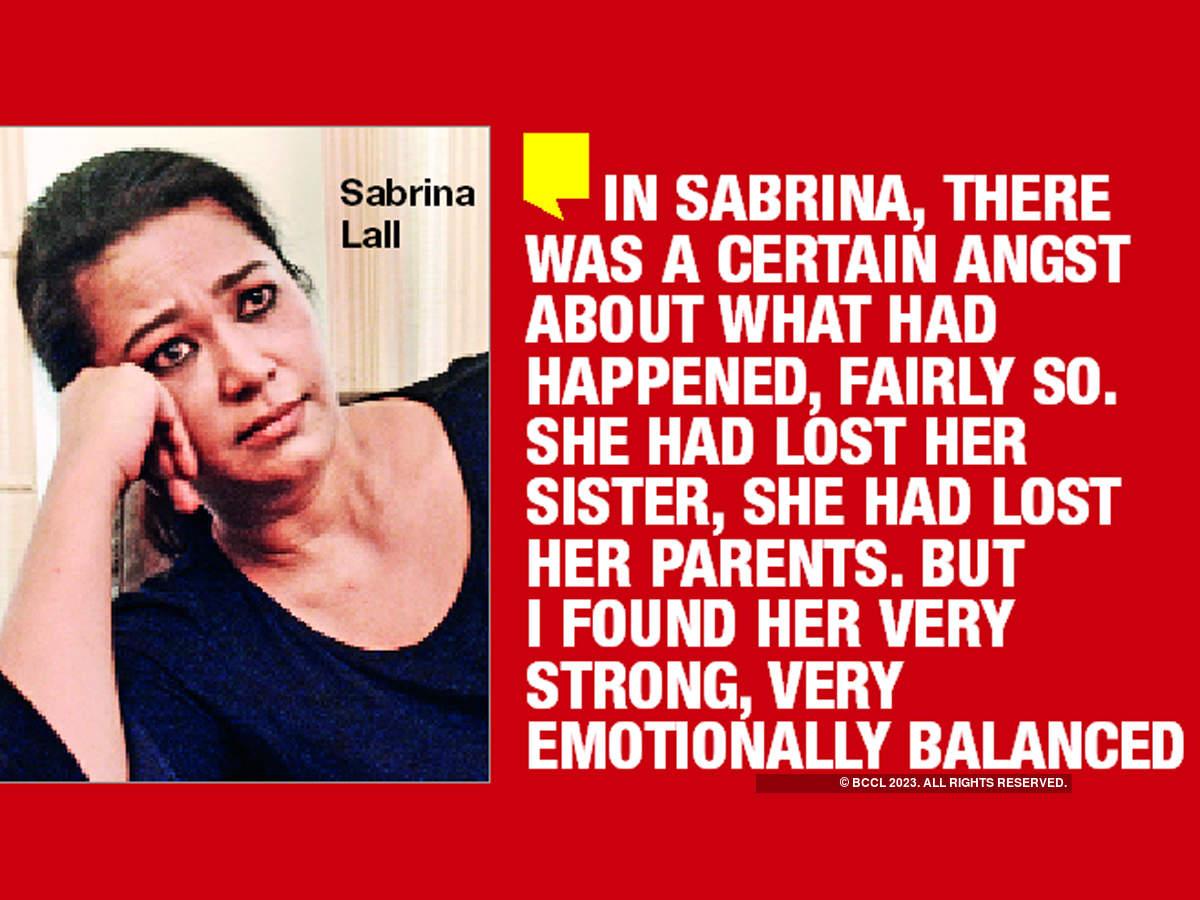 Raj Kumar Gupta on Sabrina Lall