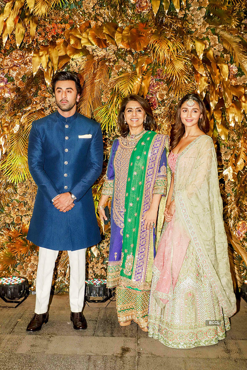Throwback pictures of Ranbir Kapoor and Alia Bhatt from Armaan Jain's wedding go viral...