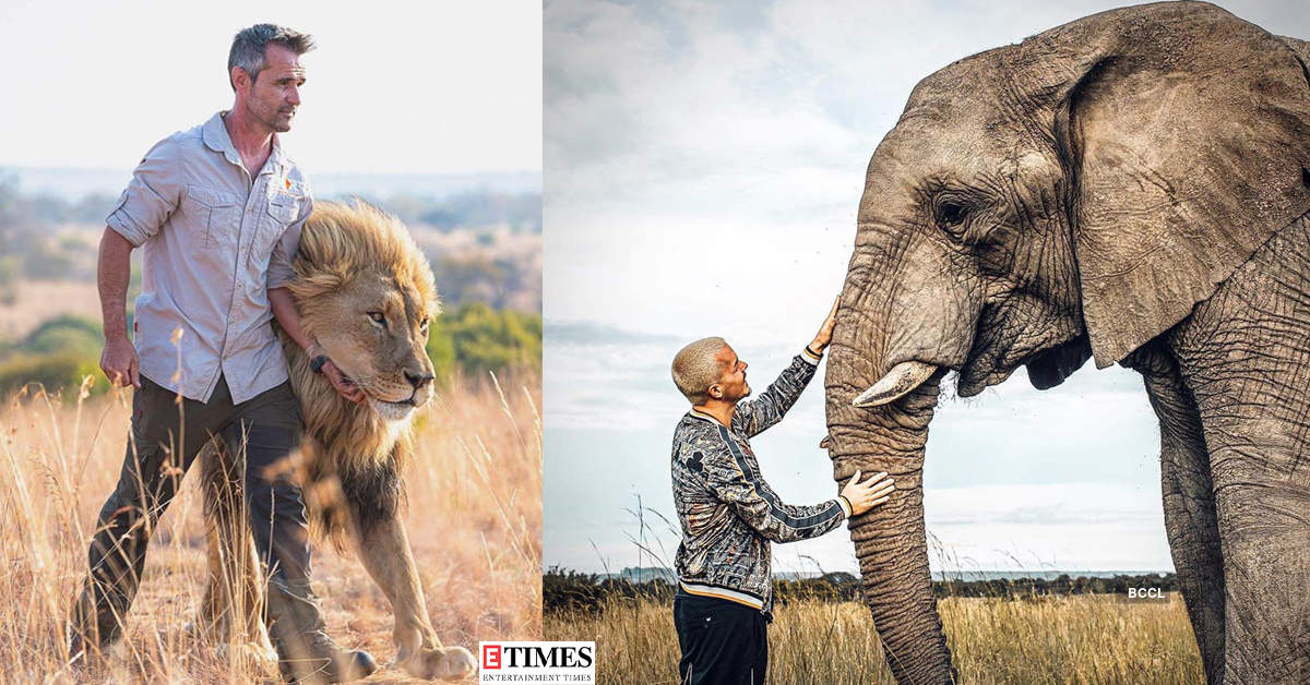These stunning pictures of humans with animals will restore your faith in humanity