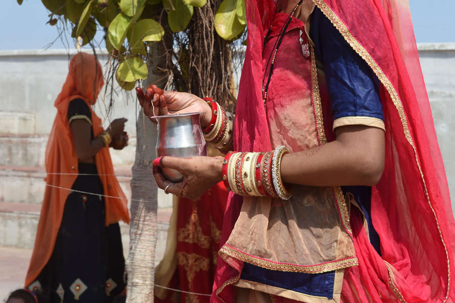 Married women celebrate Vat Savitri Purnima