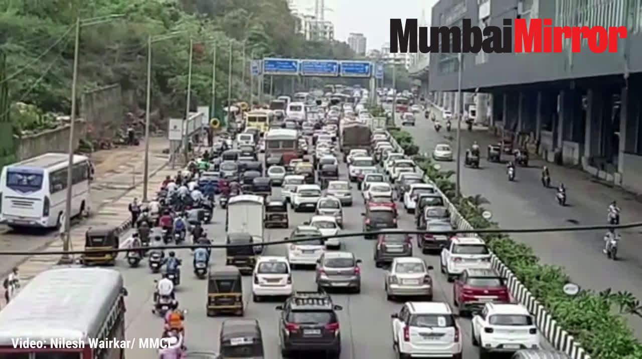 Mission Begin Again: Heavy traffic jam on Western Express Highway as Mumbai starts to reopen