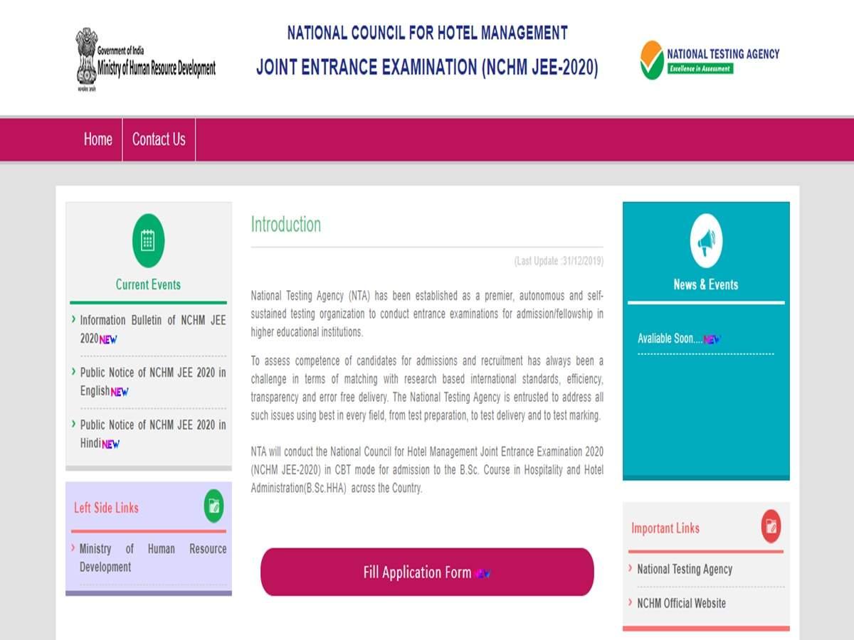 Alert: NTA postpones Hotel Management Joint Entrance Examination until further notice