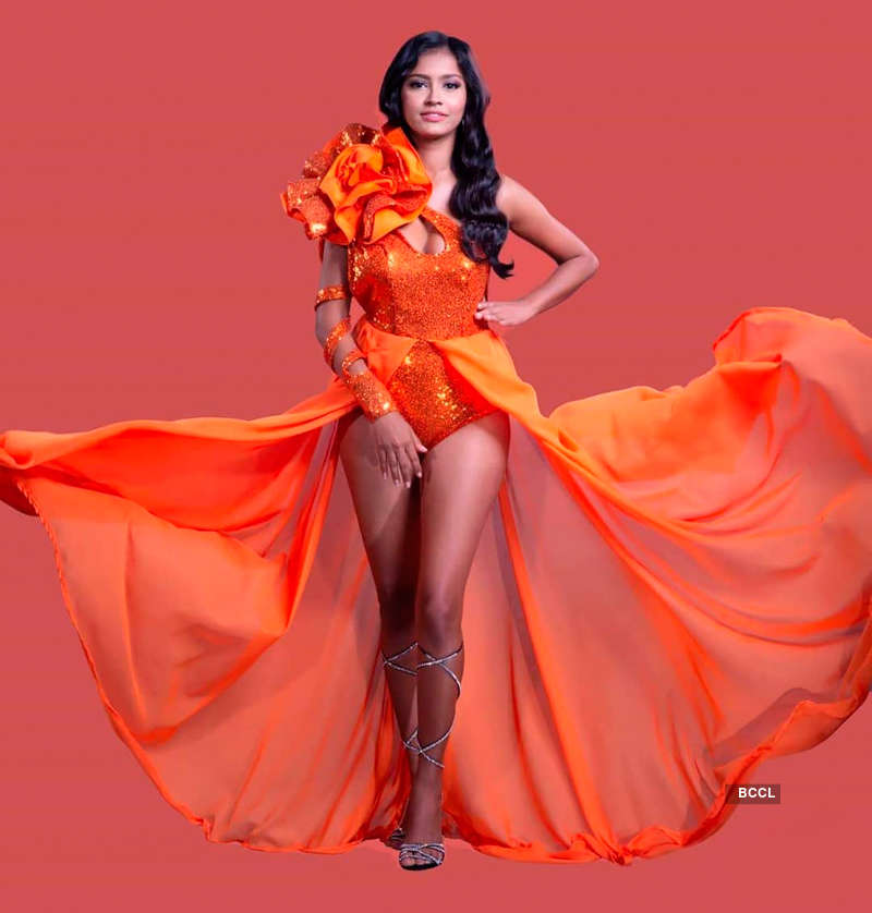 Cintiana Harry chosen as Miss Earth Guyana 2020