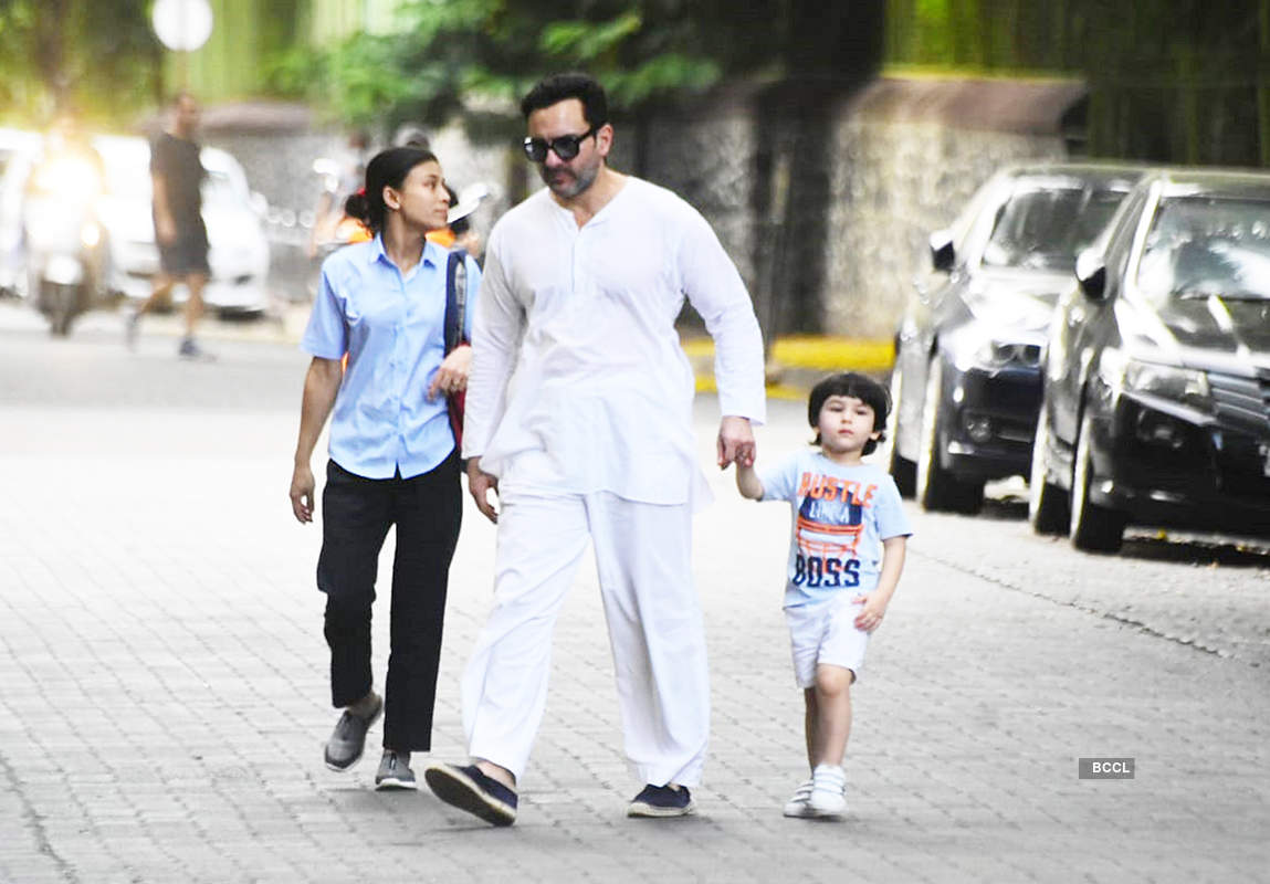 Saif Ali Khan opens up on getting trolled for stepping out with little son Taimur & Kareena without masks