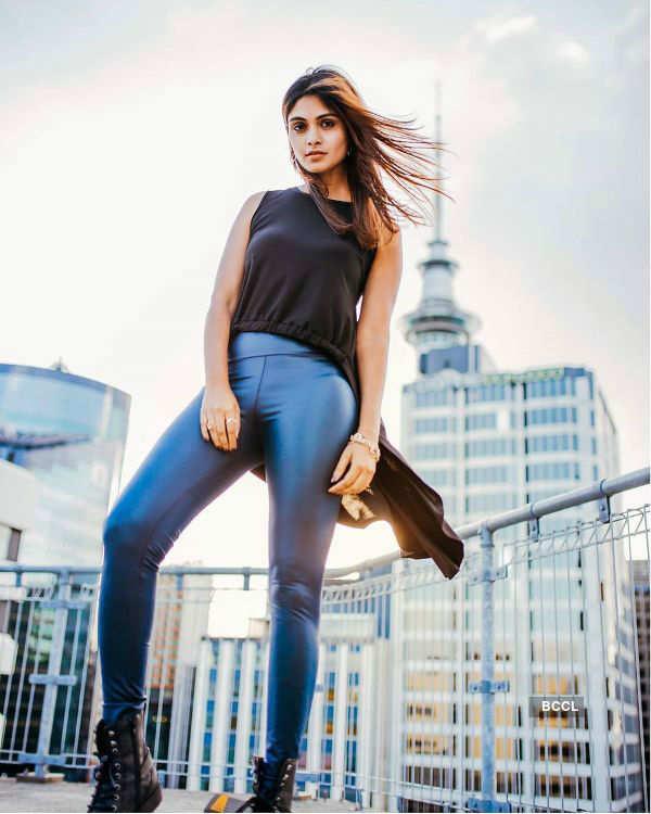Aafreen Rachel Vaz: Up above the world so high!