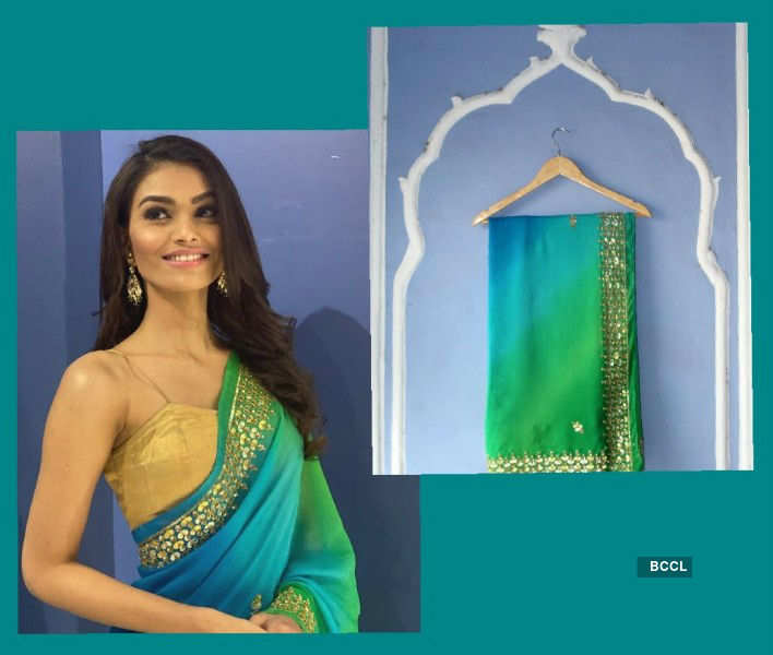 Suman Rao's handcrafted PDKF Sari on auction to raise funds for women artisans