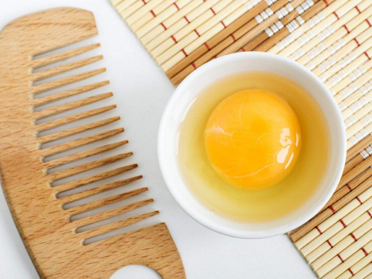 Want healthy hair? Here are easy DIY egg yolk hair masks you must try | The Times of India