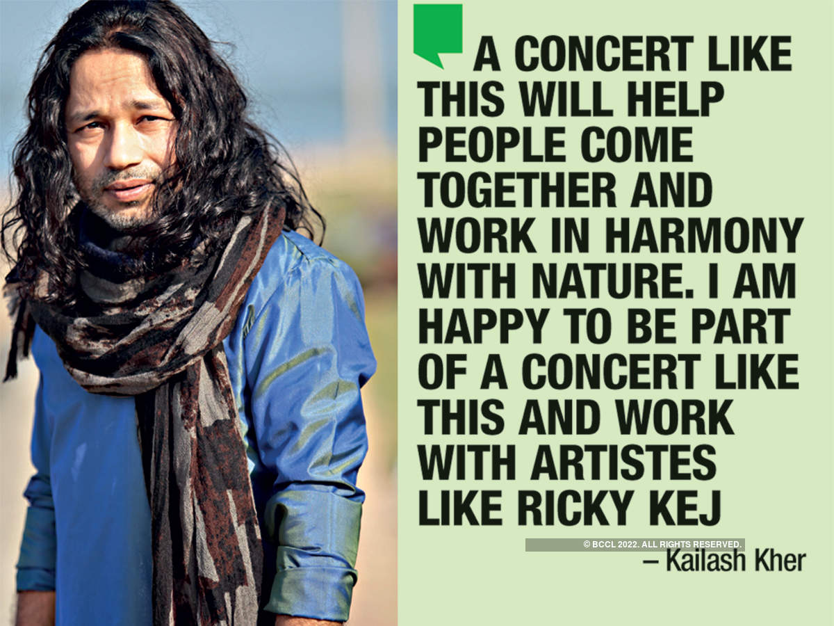 Kailash Kher is also a part of the concert